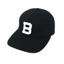 """BELIEF"" IVY LEAGUE 6 PANEL (BLACK)"