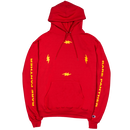 """RARE PANTHER"" FOUR BOLT CHAMPION HOODIE (RED)"