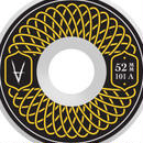 Antiz Wheels Rubber Yellow – 52mm