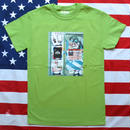 """NEW YORK PHOTO"" NEW YORK MINUTE S/S TEE (GREEN)"