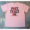 """PRESTRACE INK"" S/S TEE (SALMON PINK)"
