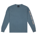 """BELIEF"" SIDELINE L/S TEE (ICE BLUE)"