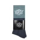 """BELIEF"" TRIBORO SOCK (TEAL/MULTI)"