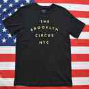 """THE BROOKLYN CIRCUS"" ""BROOKLYN FRESH TEE (BLACK)"