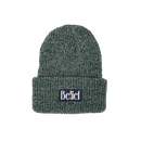 """BELIEF"" MIDNIGHT BEANIE (PINE MARL)"