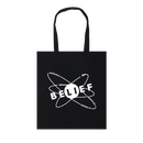"""BELIEF"" PHYSICS TOTE (BLACK)"