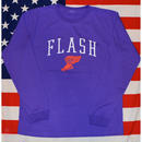 """WING FOOT"" L/S TEE (PURPLE)"