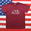 """PROOF"" PROOF S/S TEE (WINERED)"