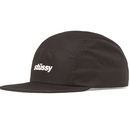"""STUSSY"" CRUSHABLE CAMP CAP (BLACK)"