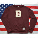 """THE BROOKLN CIRCUS"" CREW NECK SWEAT (BURGUNDY)"