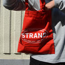 """STRAND BOOK STORE""TOTE BAG(RED/WHT)"