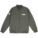 """BELIEF"" WORLD TRADE JACKET (OLIVE)"