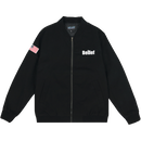 """BELIEF"" WORLD TRADE JACKET (BLACK)"