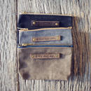 PEG&AWL | Small Waxed Canvas Pouch