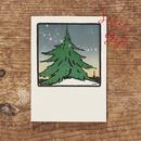 SATURN PRESS 活版印刷カード   For X'mas