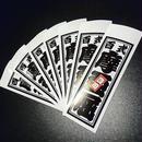 TOYOTA MARK2 SENJAFUDA STICKER - トヨタ マーク2 千社札 ステ ッカー / JZX100 1JZ-GTE 豊田  百式 摩亜屈 ドリフト