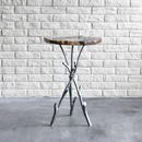 Twiggy Petrified wood Side Table  L