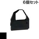 TEC8510 / CLABK-40 ( B ) ブラック インクリボン カセット TEC (東芝テック) 汎用新品 (6個セットで、1個あたり1200円です。)