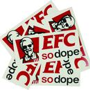 EFC 5pieces of Shits (Sticker Pack)