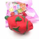 【送料無料】スクイーズ ジャンボ赤色ドラゴンフルーツ