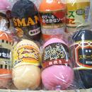 【送料無料】スクイーズおもしろ食品のび〜るハム、ソーセージ、かまぼこ