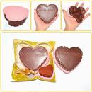 【送料無料】【Kiibru】ハートのチョコレーケーキ/スクイーズ