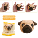 【送料無料】犬顔パン/スクイーズ