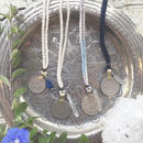 Afghan Vintage Coin/Cotton Code Necklace