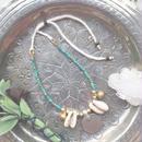 Vintage Coin / Gemstone Anklet B