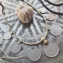 Vintage Coin/Metal Beads Necklace