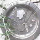 Afghan Vintage Coin /Crystal Necklace L
