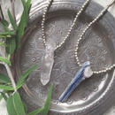 Crystal/Meta Beads Necklace L