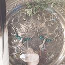 Afghan Diagram Earrings