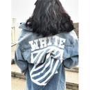 OFF WHITE オフホワイト セール! デニムジャケット ジージャン アウター 人気
