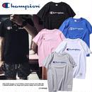 チャンピオン Tシャツ 刺繍 男女兼用 夏用 4色