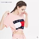 新品  Tommy Hilfiger トミーヒルフィガー 人気 Tシャツ 半袖 人気商品 ピンク
