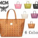 MCM レディーストートバッグ 定番大人気 4色 MCM119100