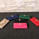 YSL 二つ折り長財布 6色選択可能 送料無料 WSY6512
