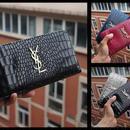 蛇柄 YSL高級長財布 ファスナー 本革 4色選択可能