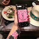 イブ サンローラン モバイルケース カバー ピンク iPhone 人気 ピカピカ 可愛い 少女