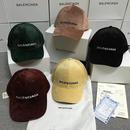 上質 帽子 バレンシアガ キャップ 人気新品 男女兼用 冬 ビロード製 多色