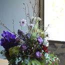 フラワーアレンジメント ギフト arrangemento  winter-spring   L size