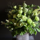 定期便 3か月毎 おまかせ季節花のフラワーアレンジメント