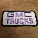 GMC TRUCKS ワッペン