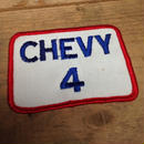 CHEVY 4 ワッペン