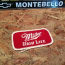 Miller Hi Life VINTAGE PATCH