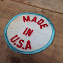 MADE IN USA ワッペン