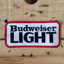 BUDWEISER LIGHT LARGE SIZE PATCH