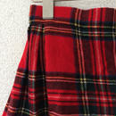 タータンチェック キルトスカート  8歳