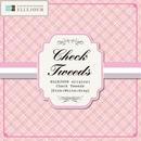 転写紙「Check Tweed Pink」 お得な10枚セット